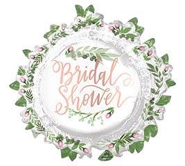 """30""""PKG BRIDAL SHOWER LOVE  LEAVES"""