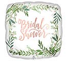 "18""PKG LOVE  LEAVES BRIDAL SHOWER"