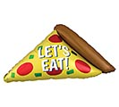 "42""PKG EPIC PARTY PIZZA SHAPE BALLOON"
