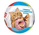 "16""PKG CLEAR ORBZ AVANTI CATS BALLOON 1st Alternate Image"