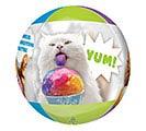 "16""PKG CLEAR ORBZ AVANTI CATS BALLOON 2nd Alternate Image"