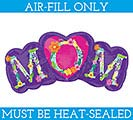 "14""FLAT FLORAL MOM MINI SHAPE"