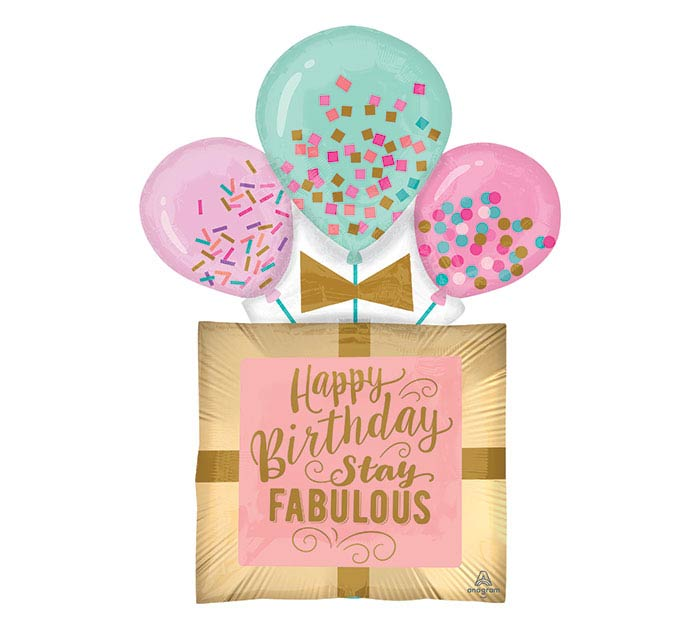 "32""PKG FABULOUS BIRTHDAY GIFT"
