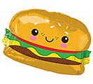 "26""PKG HAMBURGER SHAPE"