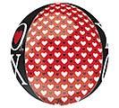 "16""PKG ORBZ XOXO HEARTS 1st Alternate Image"