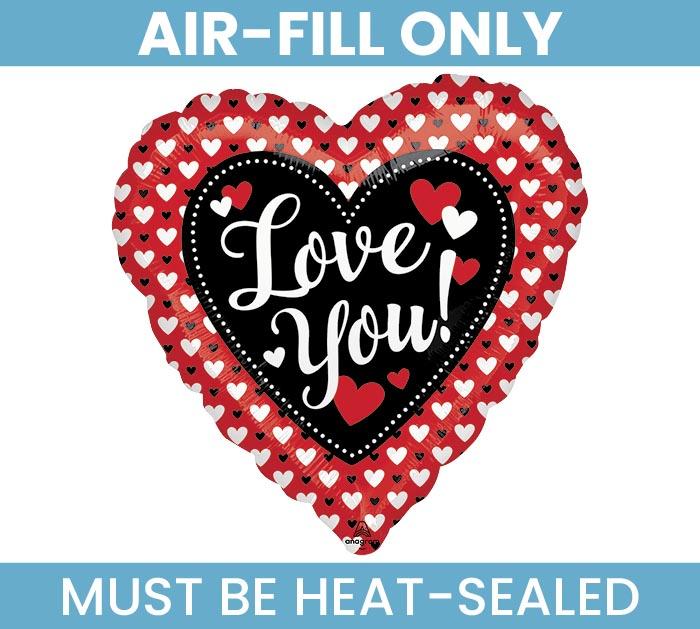 "9""FLAT HEART TO HEART LOVE"