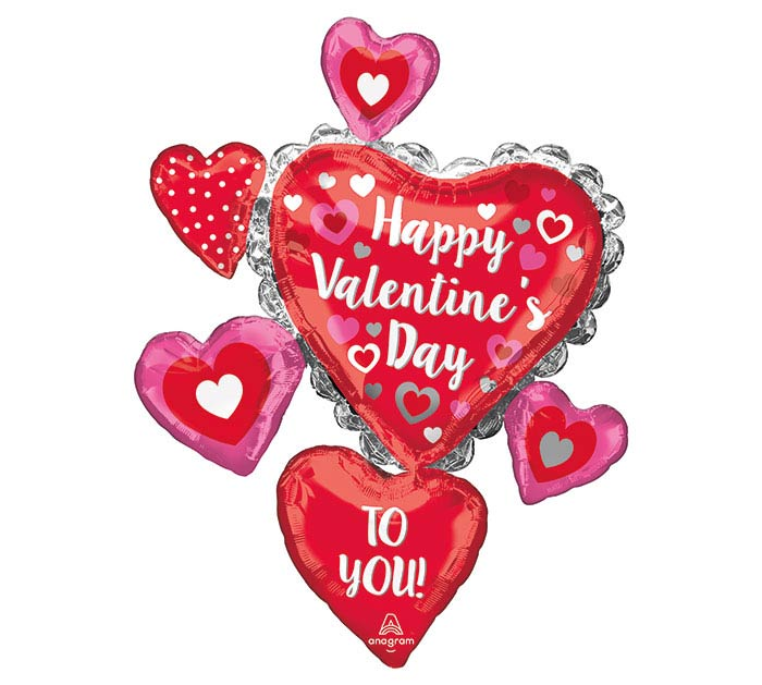 "34""PKG HAPPY VALENTINE'S DAY TO YOU"