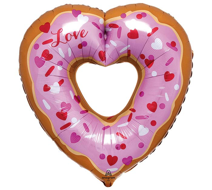 "26""PKG OPEN HEART DONUT SHAPE"