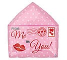 "16"" I LOVE YOU LOVE LETTER JUNIOR SHAPE"