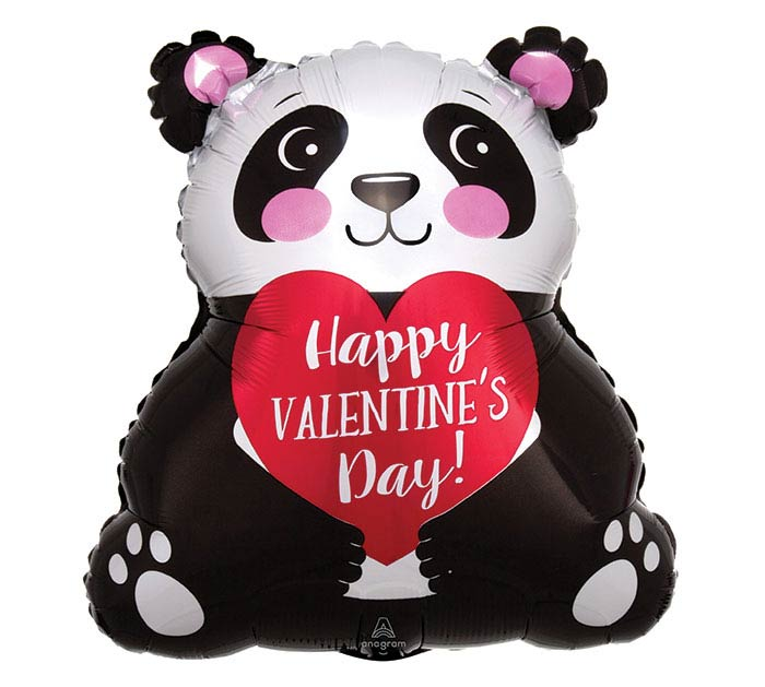 "16"" VALENTINE PANDA JUNIOR SHAPE"