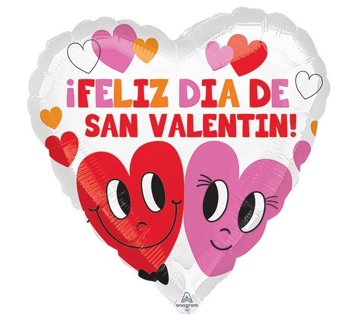 """17""""SPA FELIZ HEARTS IN LOVE"""