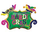 "34""PKG MARDI GRAS CELEBRATION"