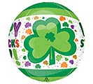 "16""PKG ORBZ ST PATRICK'S DAY DOTS  SHAM 1st Alternate Image"