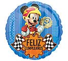 "17""PKG SPANISH BIRTHDAY MICKEY ROADSTER"