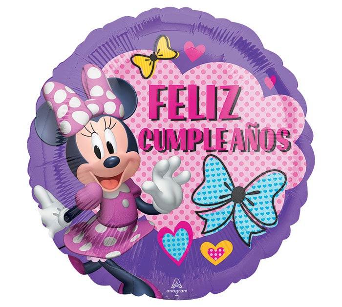 "17""PKG SPANISH BIRTHDAY MINNIE"