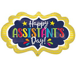 """27""""PKG ASSISTANT'S DAY MARQUEE"""