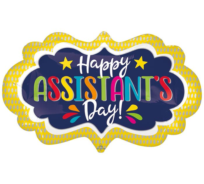 "27""PKG ASSISTANT'S DAY MARQUEE"