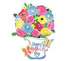 "34""PKG MOTHER'S DAY PITCHER MULTI-BALLOO"