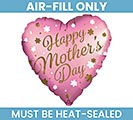 """9""""FLAT MOTHER'S DAY SATIN LUXE INFUSED"""