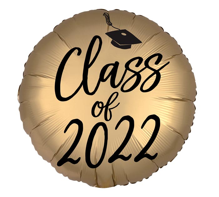 """18"""" SATIN INFUSED CLASS OF 2020"""