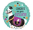"17"" CONGRATS ON YOUR DIPLLAMA"
