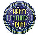 """17"""" FATHER'S DAY CIRCLES  STARS"""