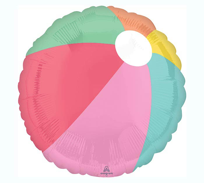 "17""PKG JUST CHILLIN BEACH BALL"