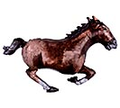"40""PKG GALLOPING HORSE SHAPE"