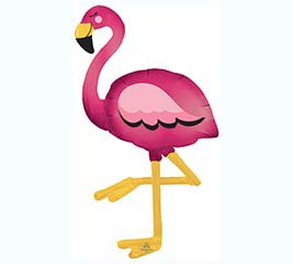 "68""PKG FLAMINGO AIRWALKER"
