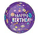 "16""PKG ORBZ BIRTHDAY SMILING GALAXY"