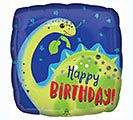 "17""PKG BIRTHDAY BRONTOSAURUS SQUARE"