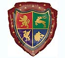 "27""PKG MEDIEVAL SHIELD SHAPE"