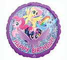 "18""PKG BIRTHDAY MY LITTLE PONY"