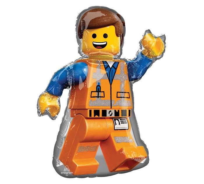 "32""PKG LEGO MOVIE 2 SHAPE"