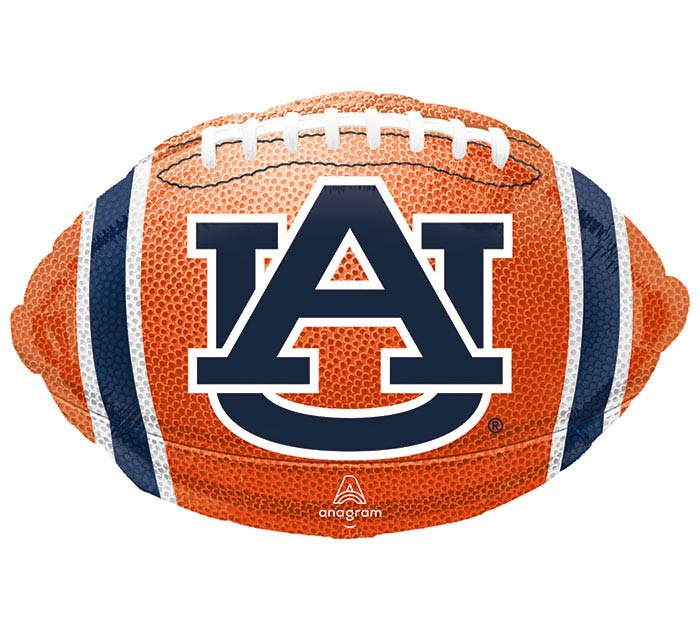 "17"" NCAA AUBURN UNIVERSITY FOOTBALL"