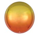 "16"" PKG YELLOW AND ORANGE OMBRE ORBZ"