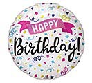 "18""PKG BIRTHDAY SPARKLE BANNER"