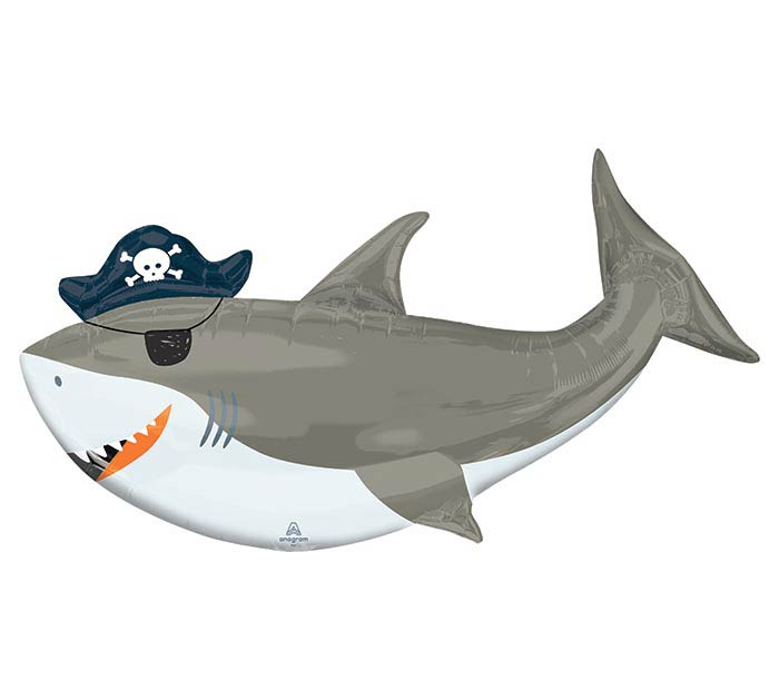 "41""PKG AHOY SHARK SHAPE"