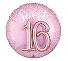"36""PKG SIXTEEN BLUSH MULTI-BALLOON"