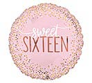 "17""PKG SIXTEEN BLUSH BIRTHDAY"