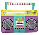 "27""PKG AWESOME PARTY BOOM BOX SHAPE"