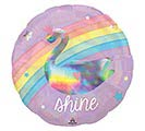 "18""PKG MAGICAL RAINBOW IRIDESCENT 1st Alternate Image"