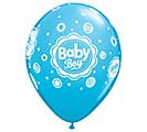 "11""BBY BABY BOY DOTS ROBIN'S EGG BLUE"