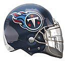 "21"" TENNESSEE TITANS FOOTBALL HELMET 1st Alternate Image"
