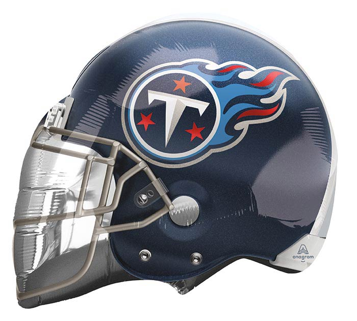 "21"" TENNESSEE TITANS FOOTBALL HELMET"