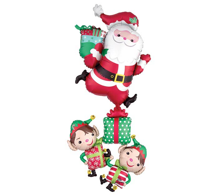 "63""PKG CHRISTMAS CHARACTERS STACKER"