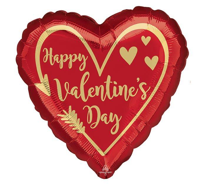 "17"" ARROW HEART VALENTINE'S DAY"