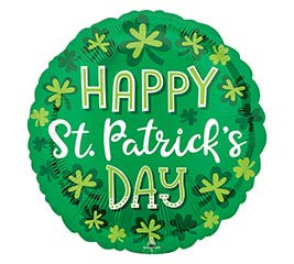 """17"""" WHIMSY ST PATRICK'S DAY"""