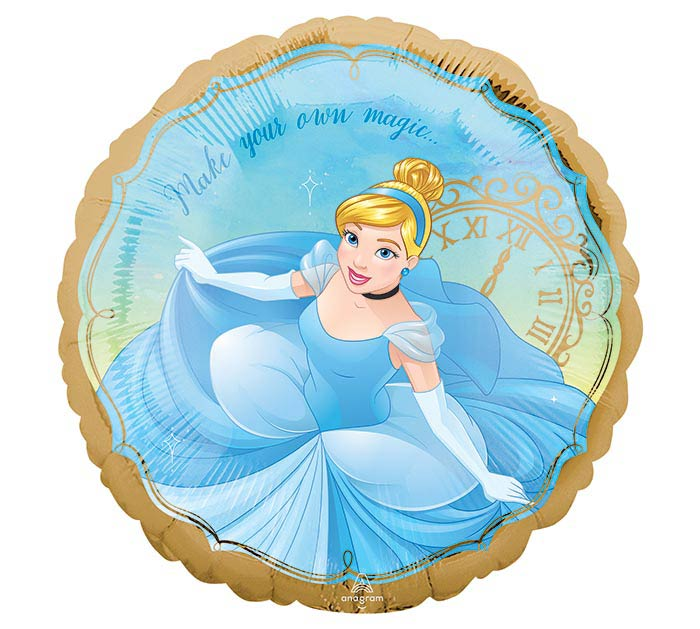 "17"" PKG DISNEY PRINCESS CINDERELLA"