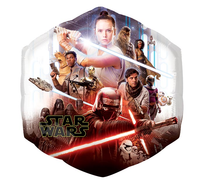 "23""PKG STAR WARS EPISODE 9"